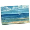 Portfolio Canvas Decor Summerset Sailboat by Paul Brent Painting Print on Wrapped Canvas