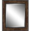 Ashton Wall Décor LLC Wood Framed Beveled Plate Glass Mirror