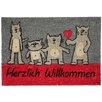 Akzente Cats Comic Doormat
