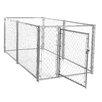 Jewett Cameron Lucky Dog™ Chain Link Yard Kennel
