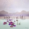 Atelier Contemporain Lotus by Iris Graphic Art on Canvas
