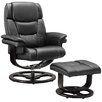 Home & Haus Recliner and Footstool