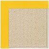 Capel Rugs Zoe Machine Tufted Summertime Yellow/Beige Indoor/Outdoor Area Rug