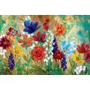 Andover Mills 'Wildflower Fresco I' Painting Print on Wrapped Canvas