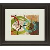 Classy Art Wholesalers Away we Go I by Katrina Craven Framed Painting Print