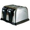 Sabichi 4 Slice Stainless Steel Toaster
