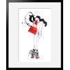 """Atelier Contemporain Gerahmtes Poster """"Red Bag"""" von Burfitt, Kunstdruck"""