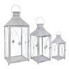 ChâteauChic 3 Piece Energicus Lantern Set in Antique White