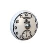 House Additions Hatfield and Ross Clock Round Knob (Set of 4)