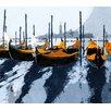 MADEMOISELLE TISS Wandbehang Gondoles Venise Orange