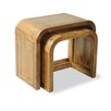 Homestead Living Filiasi 2 Piece Nest of Tables