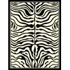 House Additions Beige Striped Area Rug