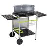 cook in garden Classy Charcoal Barbecue with Side Shelf