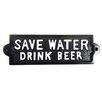 SKStyle Save Water Drink Beer Wall Décor