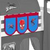 Wrigglebox Spider Man Bunk Bed Pocket