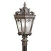 Kichler Tournai Outdoor 3-Light Lantern Head