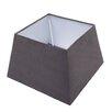 Caracella Vera 30cm Faux Leather Square Lamp Shade