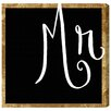 Oliver Gal Mr by Runway Avenue Typography Wrapped on Canvas