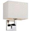 Firstlight LEX 1 Light Semi-Flush Wall