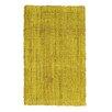 Jute&Co Handgewebter Teppich in Safarigelb