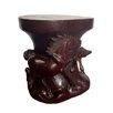 D-Art Collection Horse Accent Stool