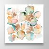 Oliver Gal Rose Gold Garden by Artana Art Print Wrapped on Canvas