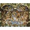 Magnolia Box Last Judgement, from the Sistine Chapel, 1538-41 by Michelangelo Buonarroti Art Print on Canvas