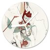 I-like-Paper Blattwerk 13cm Analogue Wall Clock