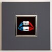 ERGO-PAUL French Kiss Framed Painting Print