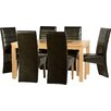 dCor design Cesane 7 Piece Dining Set