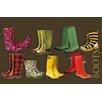 Akzente Gallery Boots Doormat