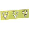 All Home Wall Mounted Coat Rack