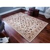 Three Posts Parkville Wool Beige Rug