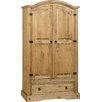 Andover Mills Corona 2 Door Wardrobe