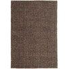 Asiatic Handgewebter Teppich Ives in Schokoladenbraun