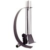Heibi Stainless Steel Fireplace Tool Set