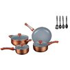 Gourmet Chef 7 Piece Non Stick Cookware Set