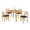 Heartlands Furniture Nice Dining Set with 4 Chairs