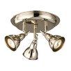 Endon Lighting Burbidge 3 Light Ceiling Spotlight