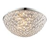 Endon Lighting Chryla 3 Light Flush Ceiling Light