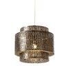 Endon Lighting 28 cm Lampenschirm aus Metall Bramham