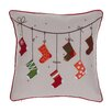 14 Karat Home Inc. Christmas Stocking Throw Pillow