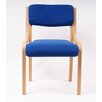 Ergonomics 4 Work Bentley Armless Stacking Chair with Cushion
