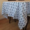 Purvaai Purvaai Floral Shrub Blockprint Table Cloth