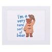 "House Additions Paddington Bear ""I'm A Very Rare Sort Of Bear"" Art Print Plaque"