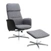 Homestead Living Emerson Recliner with Footstool