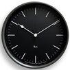 Lemnos Riki Steel 20.4cm Wall Clock