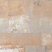 "Walls Republic Henge Faux Metal Trompe L'oeil 32.97' x 20.8"" Abstract Wallpaper"