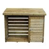 Forest Garden 6 Ft. W x 2 Ft. D Wooden Log Store