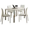 Riley Ave. Cherry Dining Set with 4 Chairs